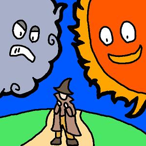 北風と太陽 ストーリー構造 考察